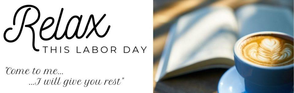Labor Day website header